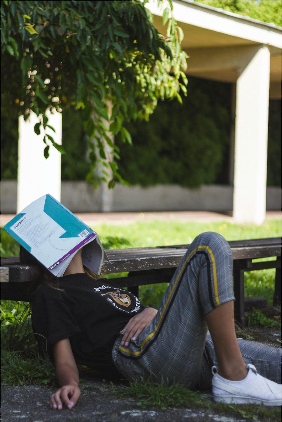 student stuggling